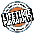 PH Lifetime warranty icon - PROformance Hoops Kids