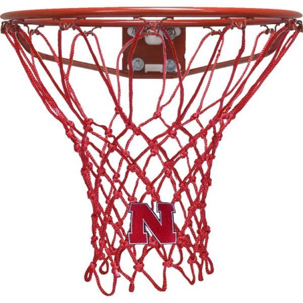 nebraska hd red net 600x600 - UNIVERSITY OF NEBRASKA BASKETBALL NET